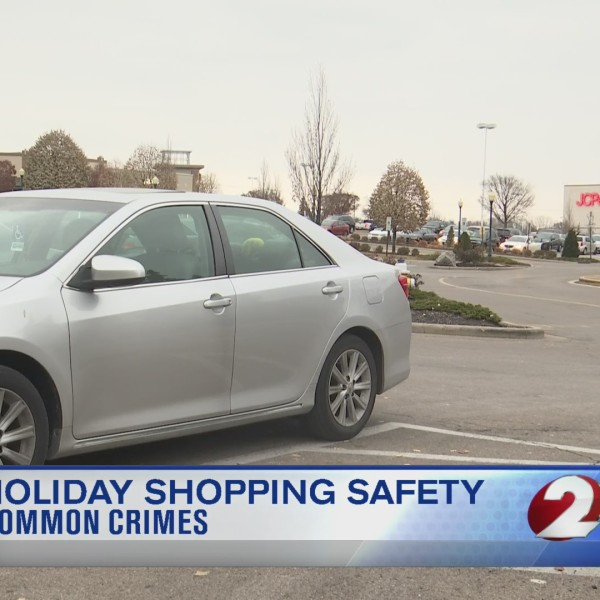 Common crimes during holiday shopping season
