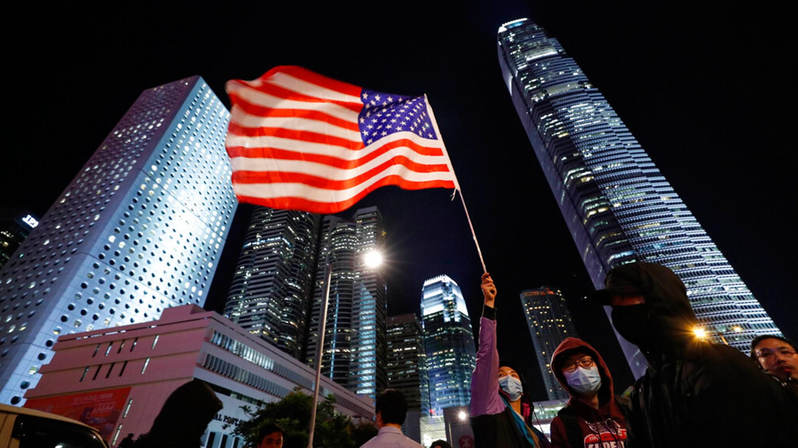 Hong Kong China Trump