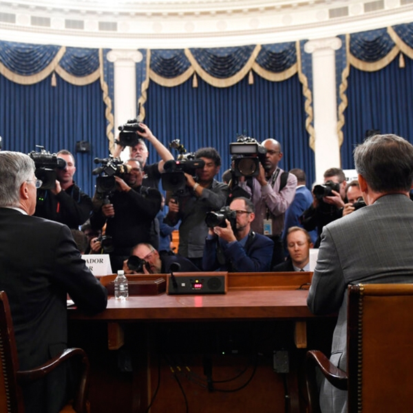 Impeachment hearings day one