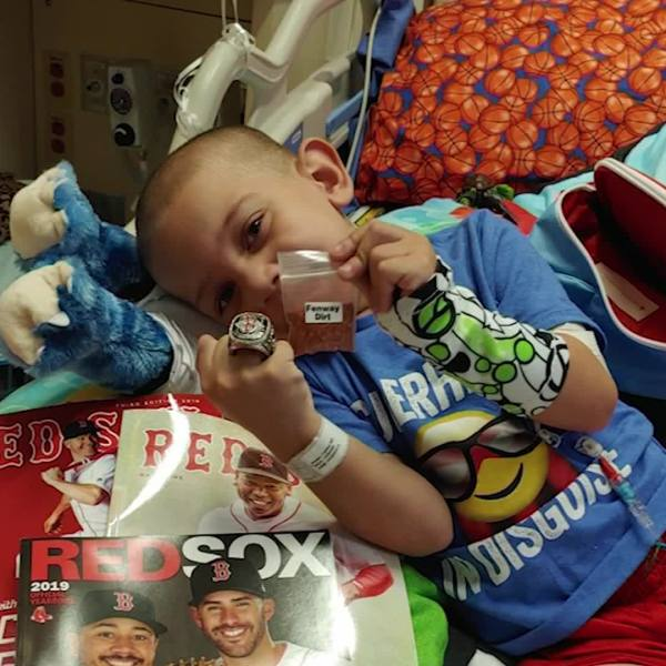 Boy stuck in hospital asks for Christmas cards