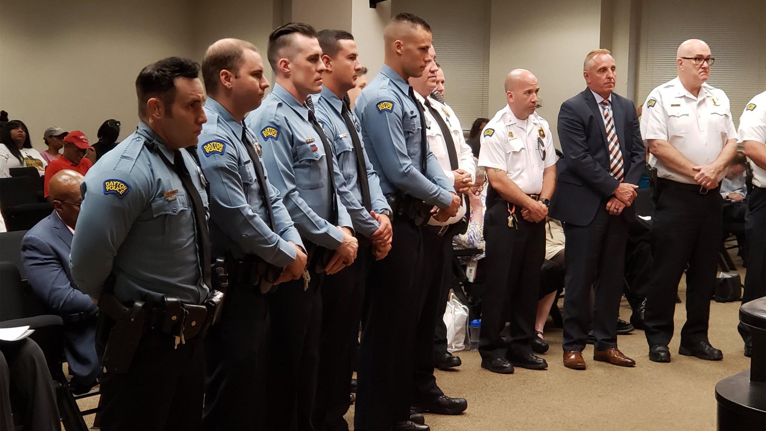 Dayton police officers
