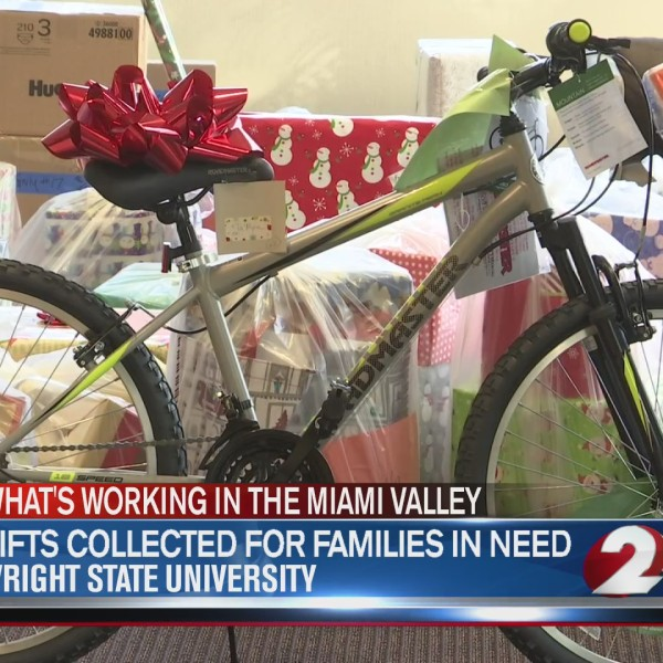 Gifts collected for families in need