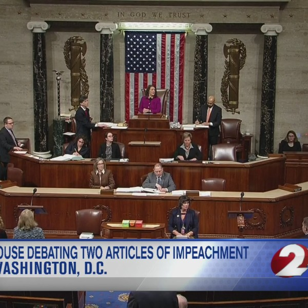 House debating 2 articles of impeachment
