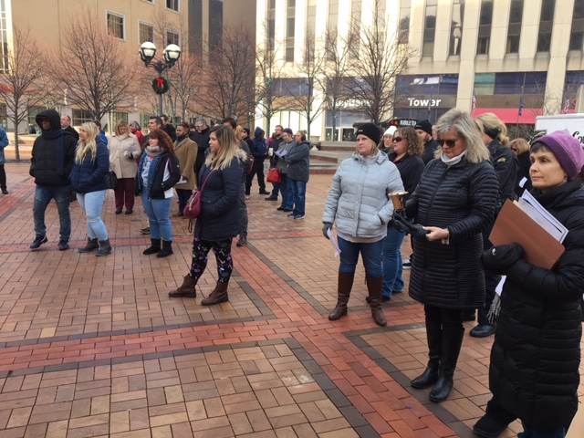 Homeless Memorial Vigil in Dayton