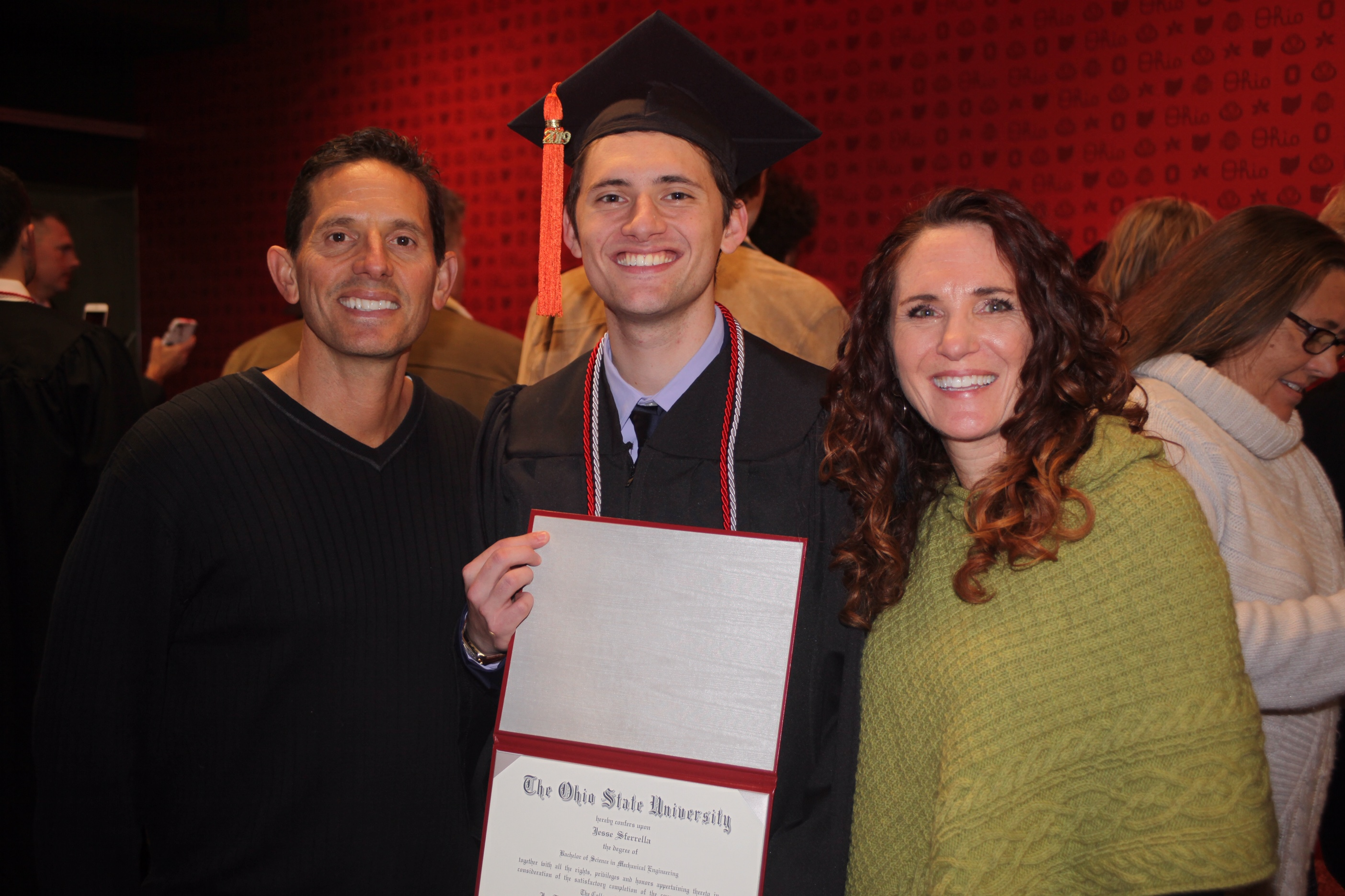 Father gifts OSU graduate son with trip