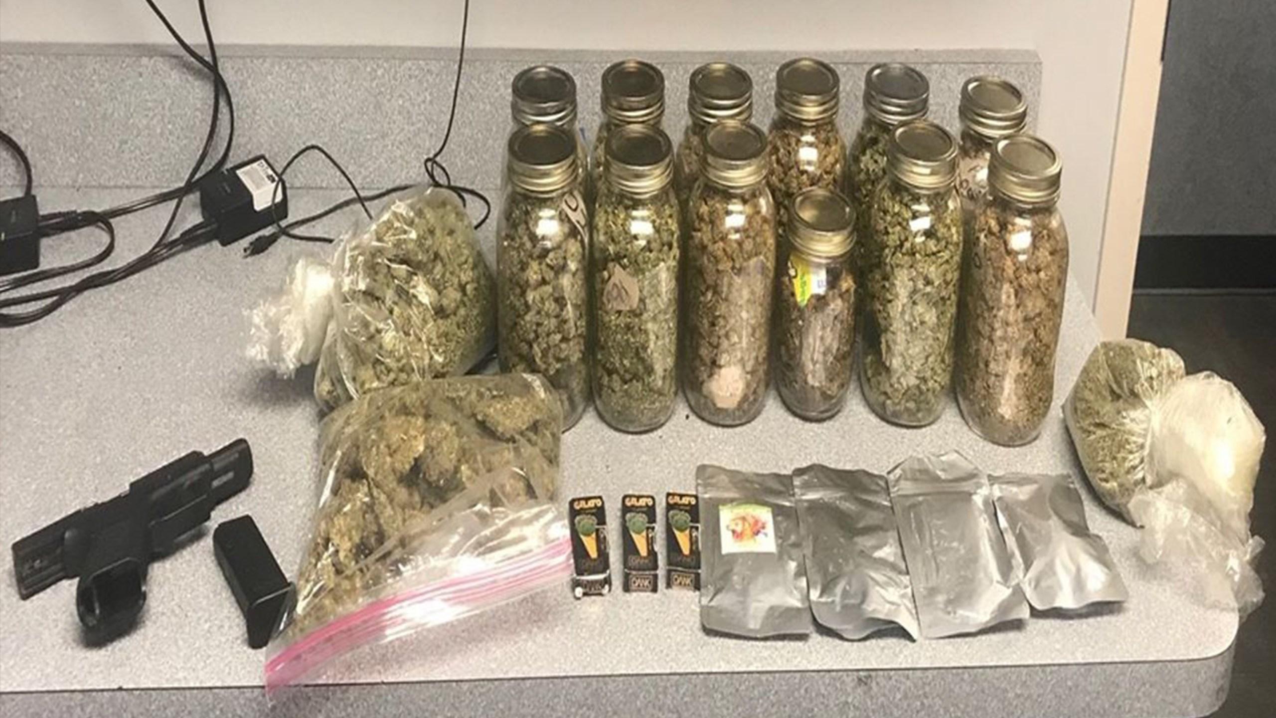 Marijuana seized in Moraine
