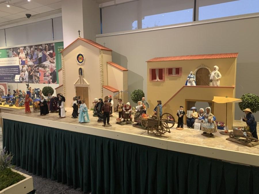 UD Nativity Exhibit