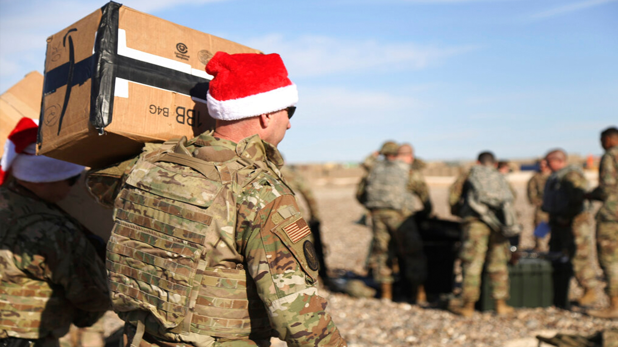 US troops in Syria gifts