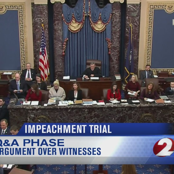 Impeachment trial question and answer
