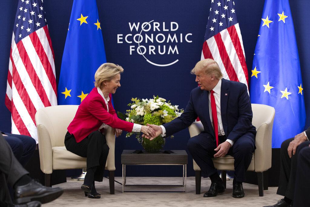 Donald Trump, Ursula von der Leyen