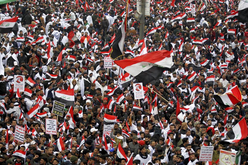 Iraq US Protest