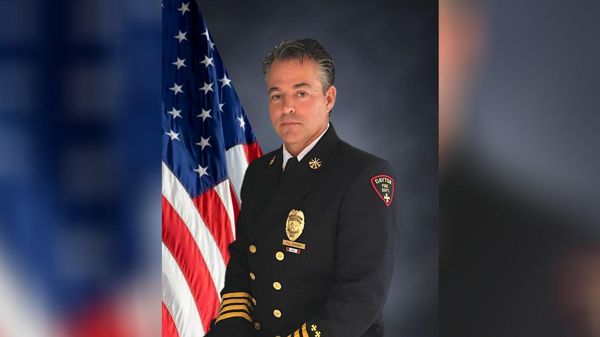 Dayton Fire Chief Lykins