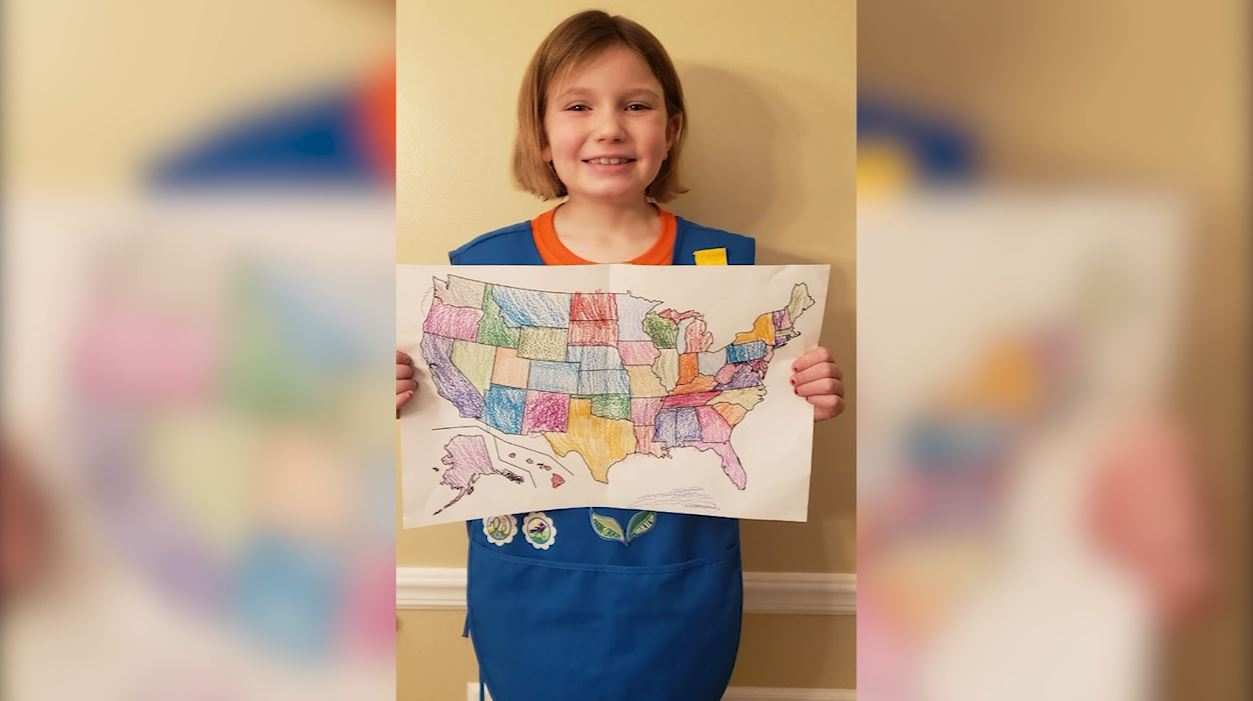 Girl scout all 50 states