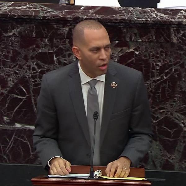 House Democrats wind down arguments