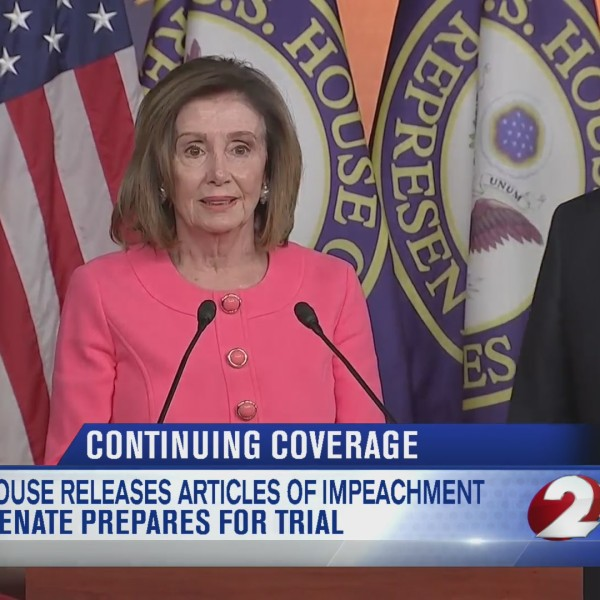 House releases articles of impeachment