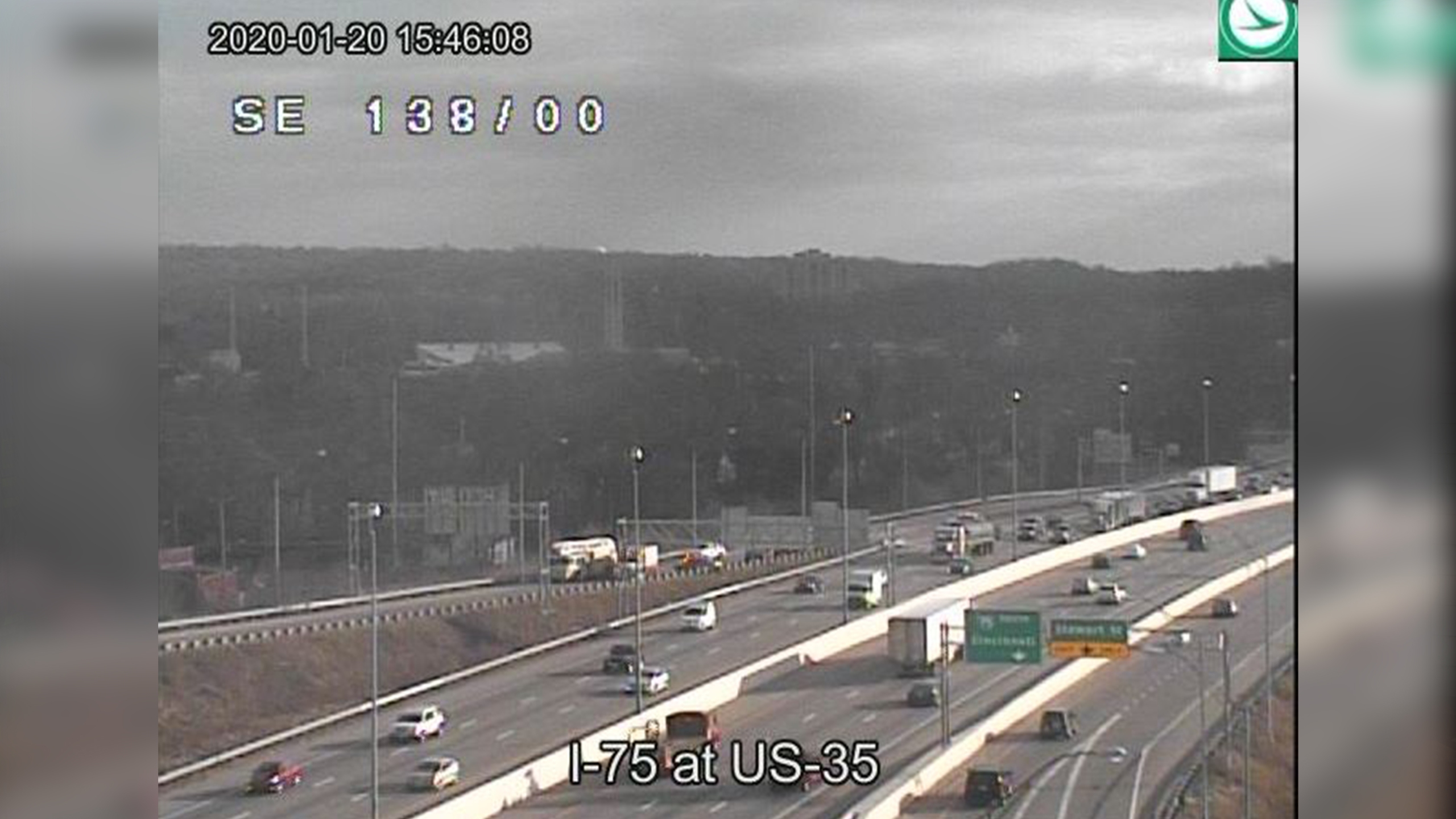 I-75 at US-35 crash