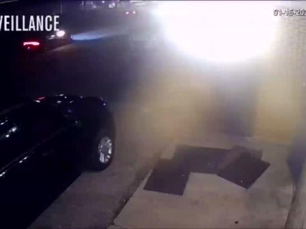 Suspect fires shots into car outside EJ's Lounge