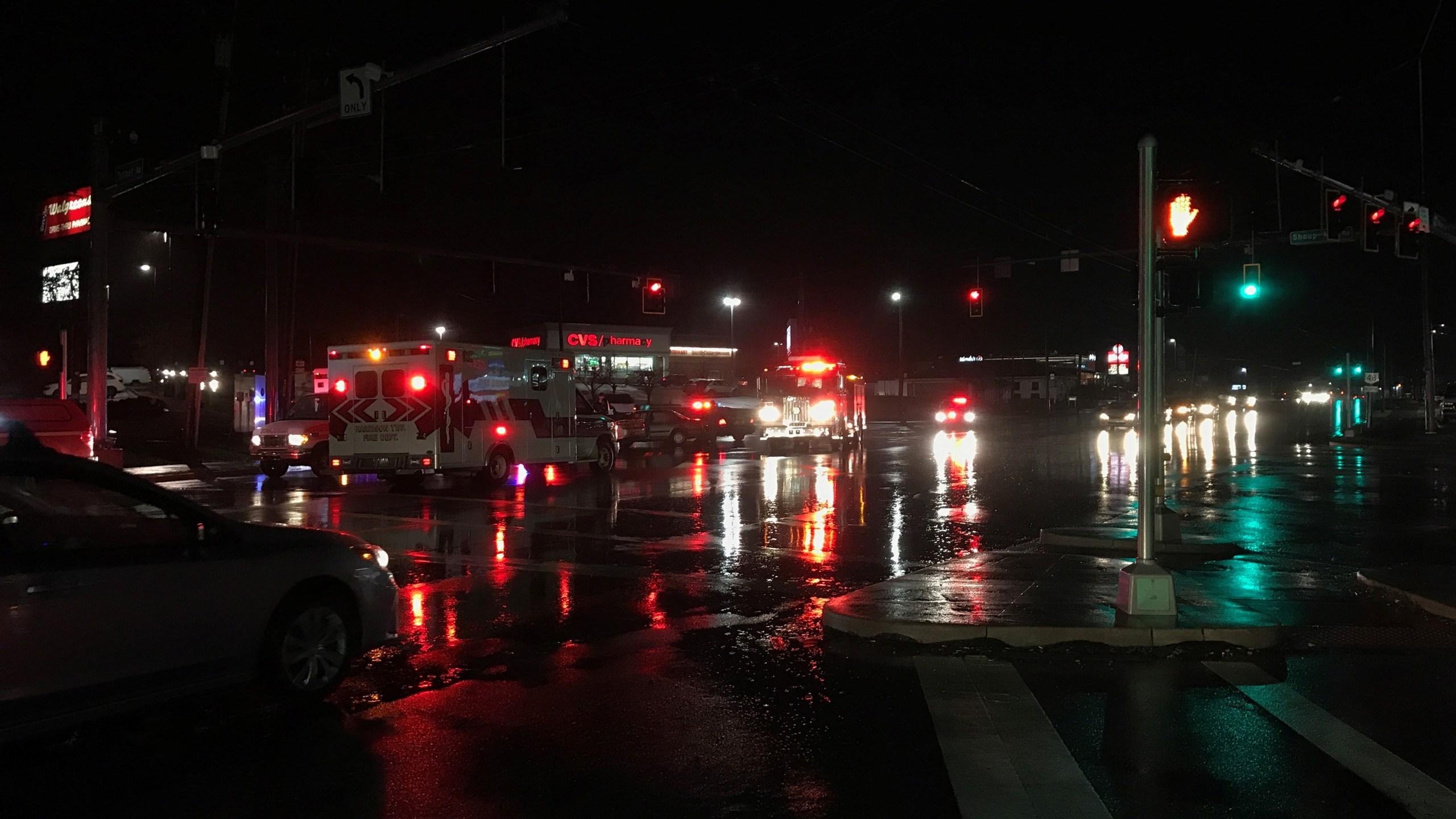 Turner Road crash