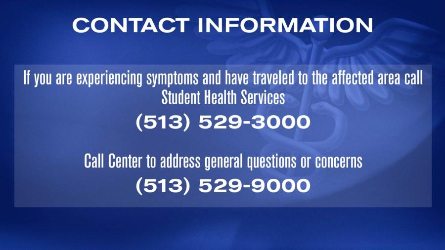 contact info for Miami Univ