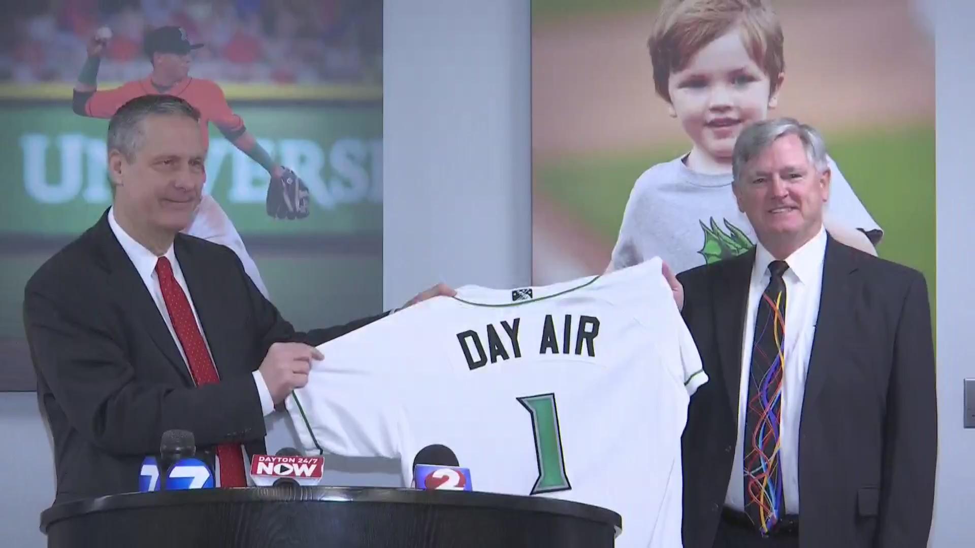 Day Air ballpark Announcement