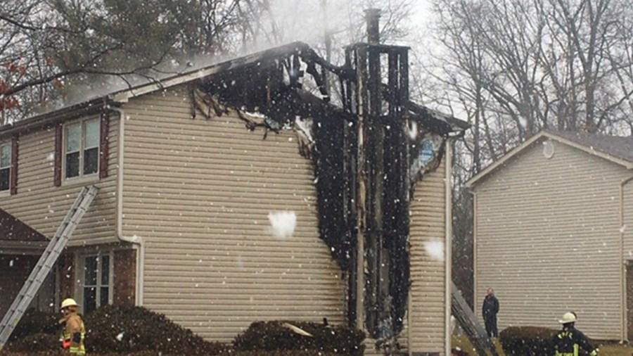 2-26 Fairborn Chimney Fire 3