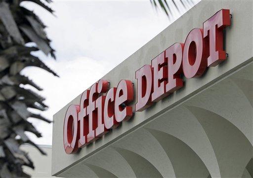 Earns Office Depot