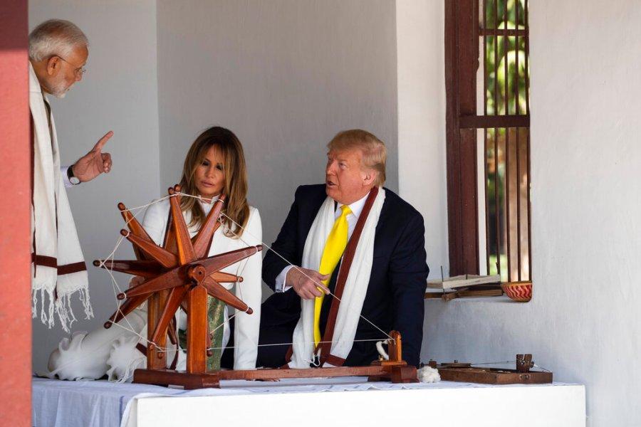 Donald Trump, Melania Trump, Narendra Modi