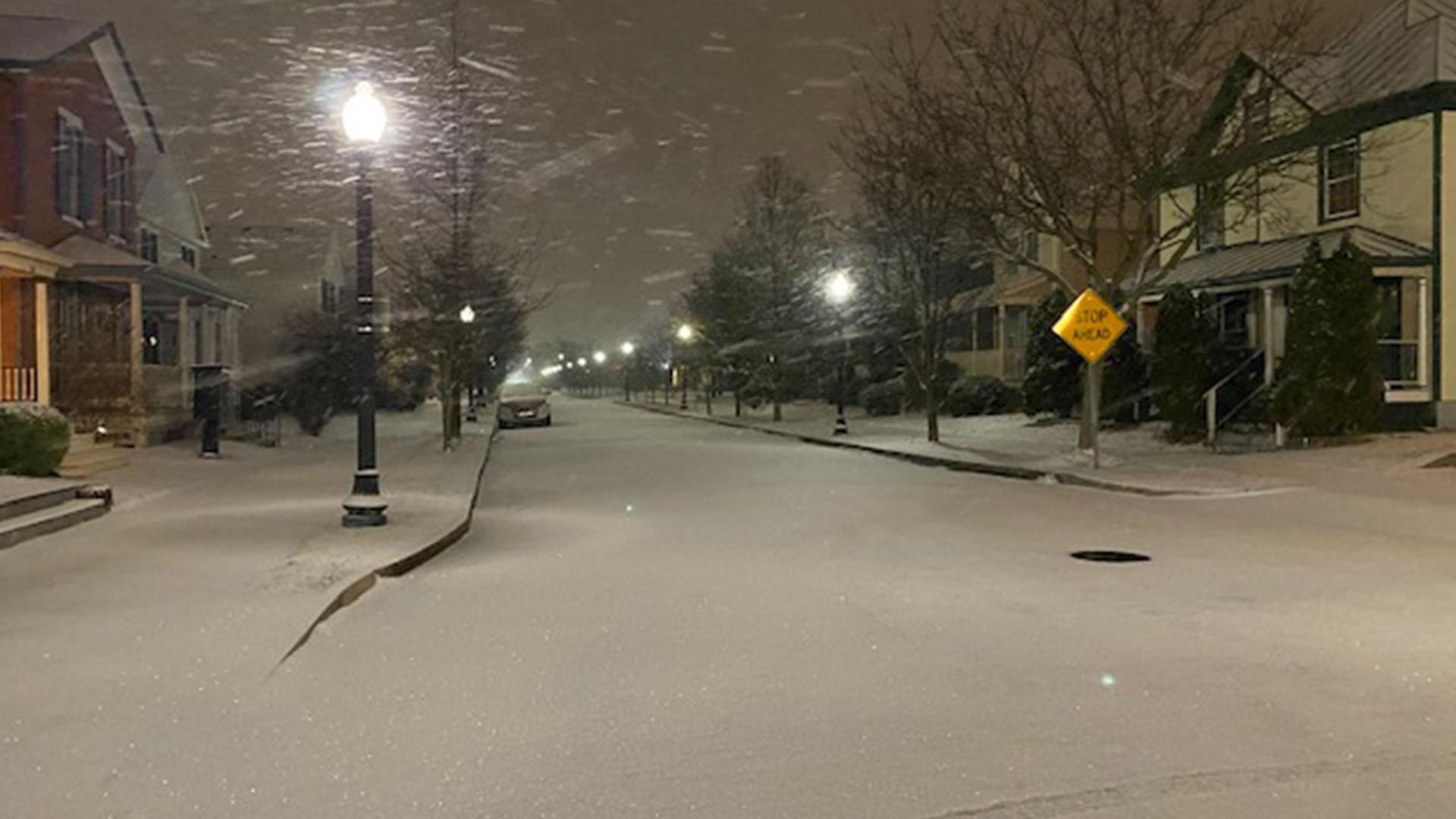 Dayton Snow Web