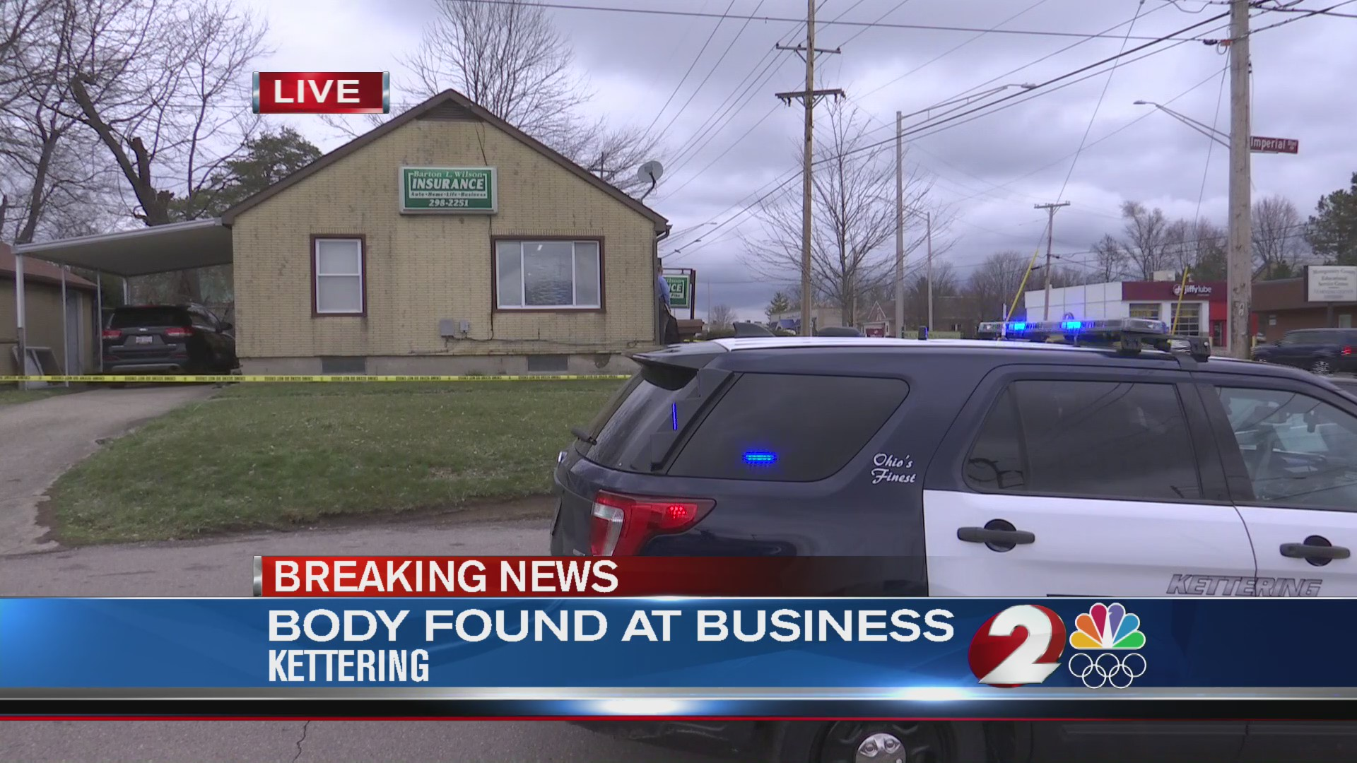 Body found at business