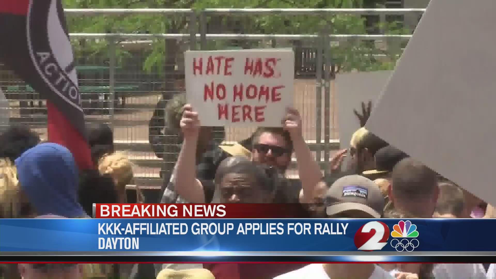 KKK-affiliated group applies for Sept. rally