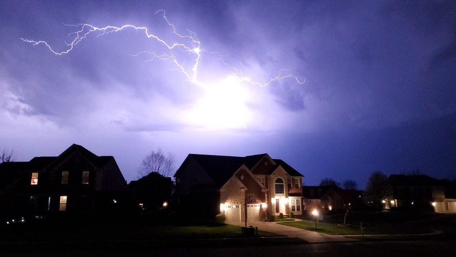 Springboro lightning