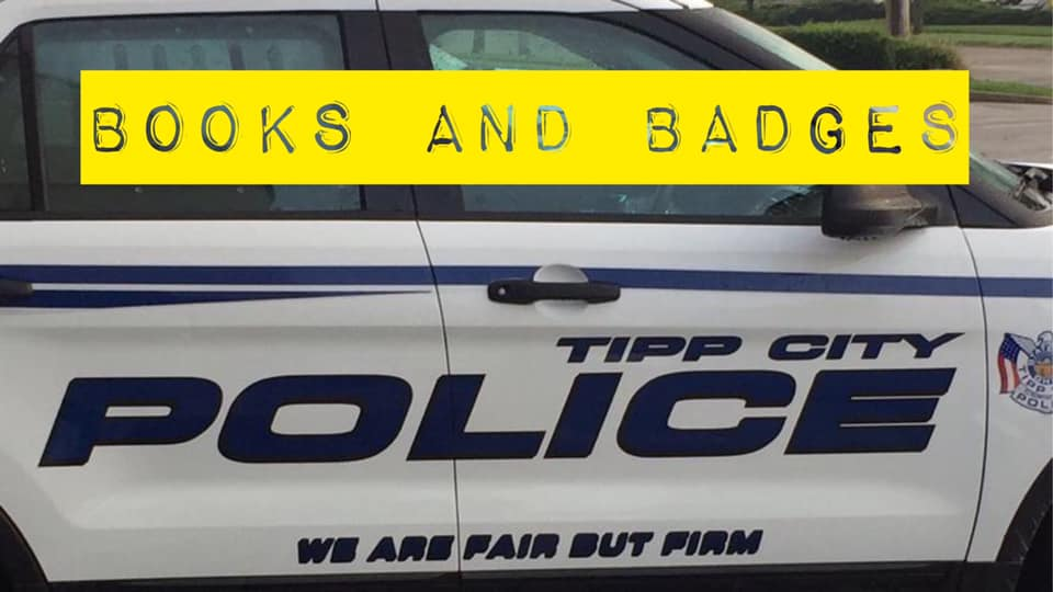 4-2 Tipp City Police Books and Badges