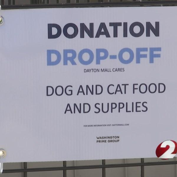 Dayton Mall donation drive