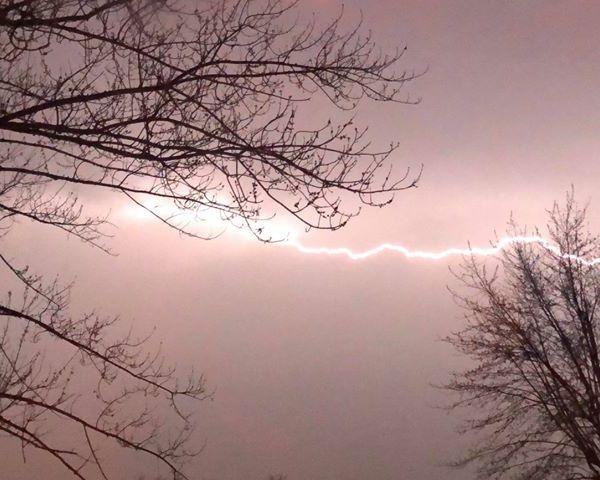 Lightning Miami Valley storms