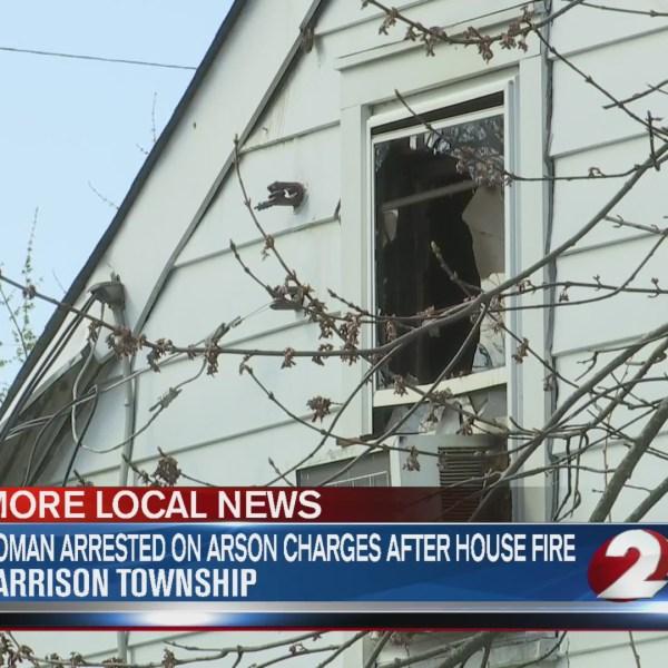 Harrison Twp house fire 4-2