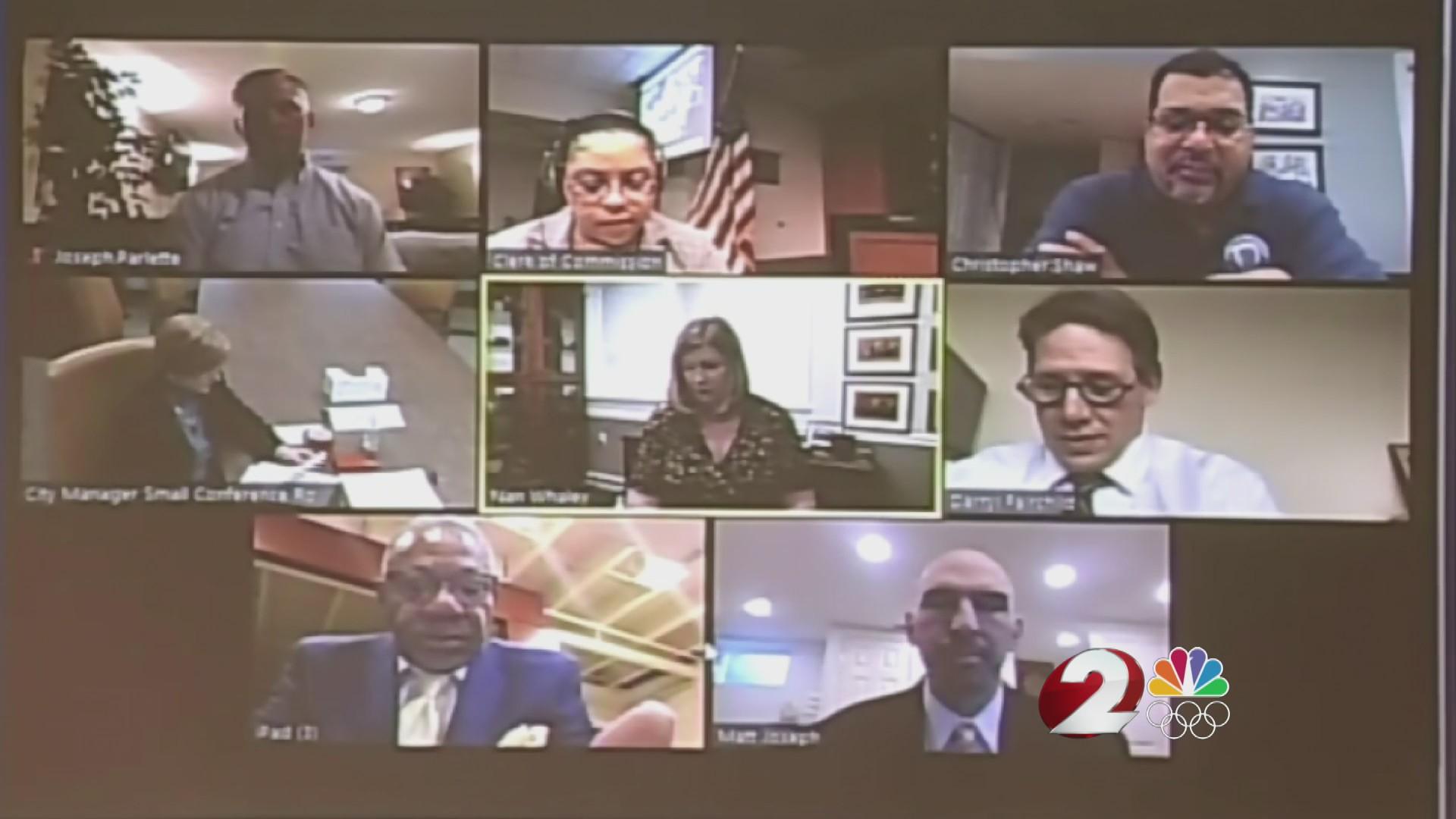 Virtual Dayton city commission meeting