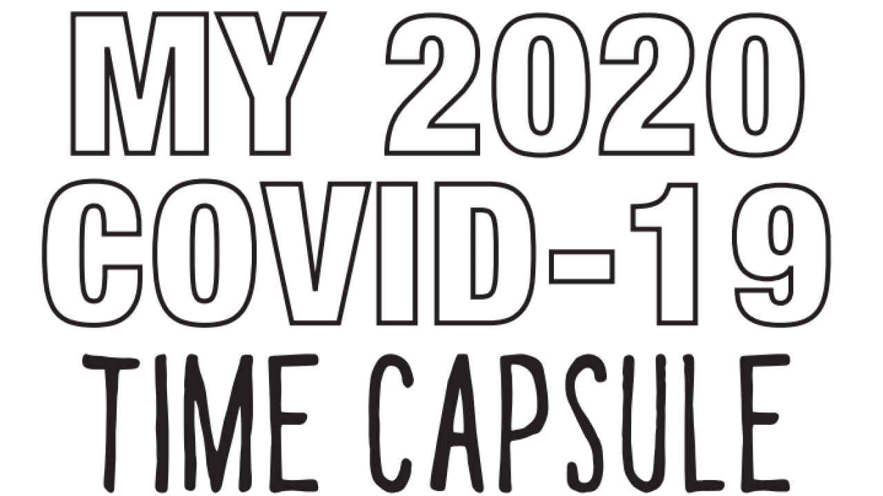 'COVID-19 Time Capsule' worksheets great way for kids to