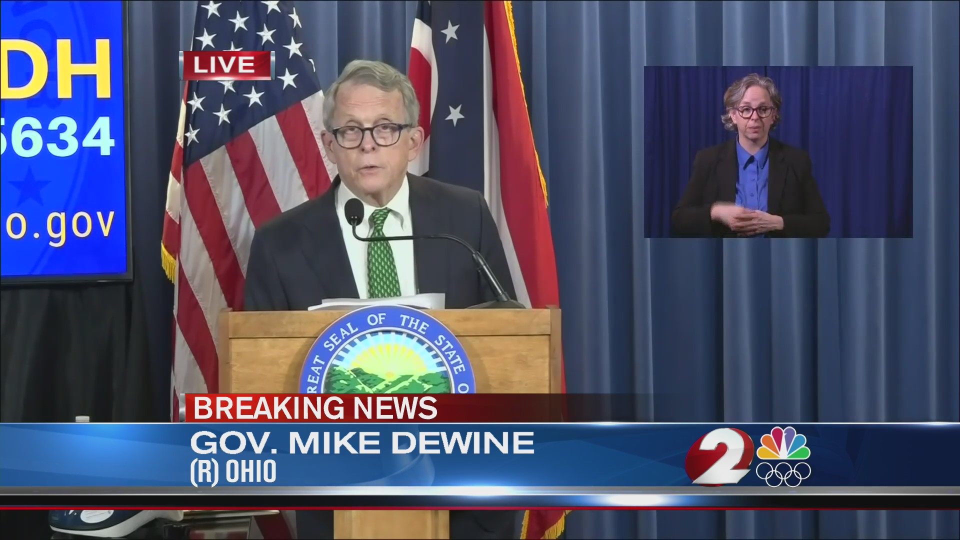 DeWine on outdoor visitation