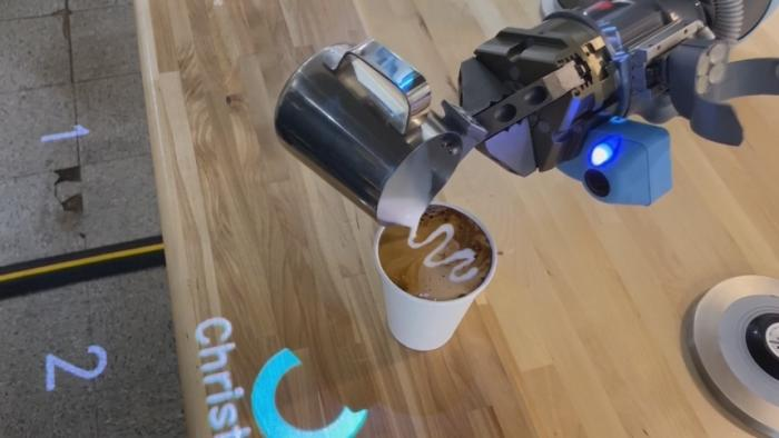 Robot Barista Serves Up Safer Coffee
