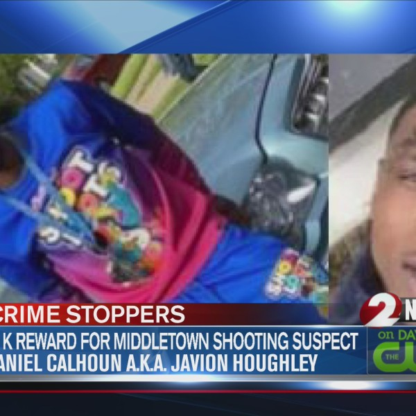 Reward offered for information on Middletown shooting suspect