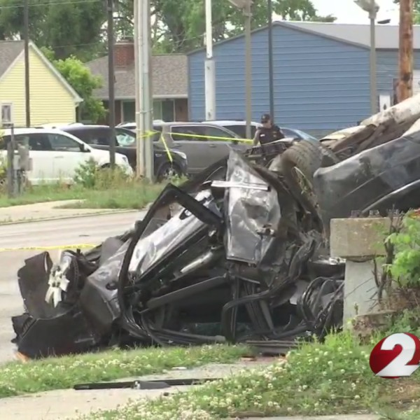 4 hospitalized in crash