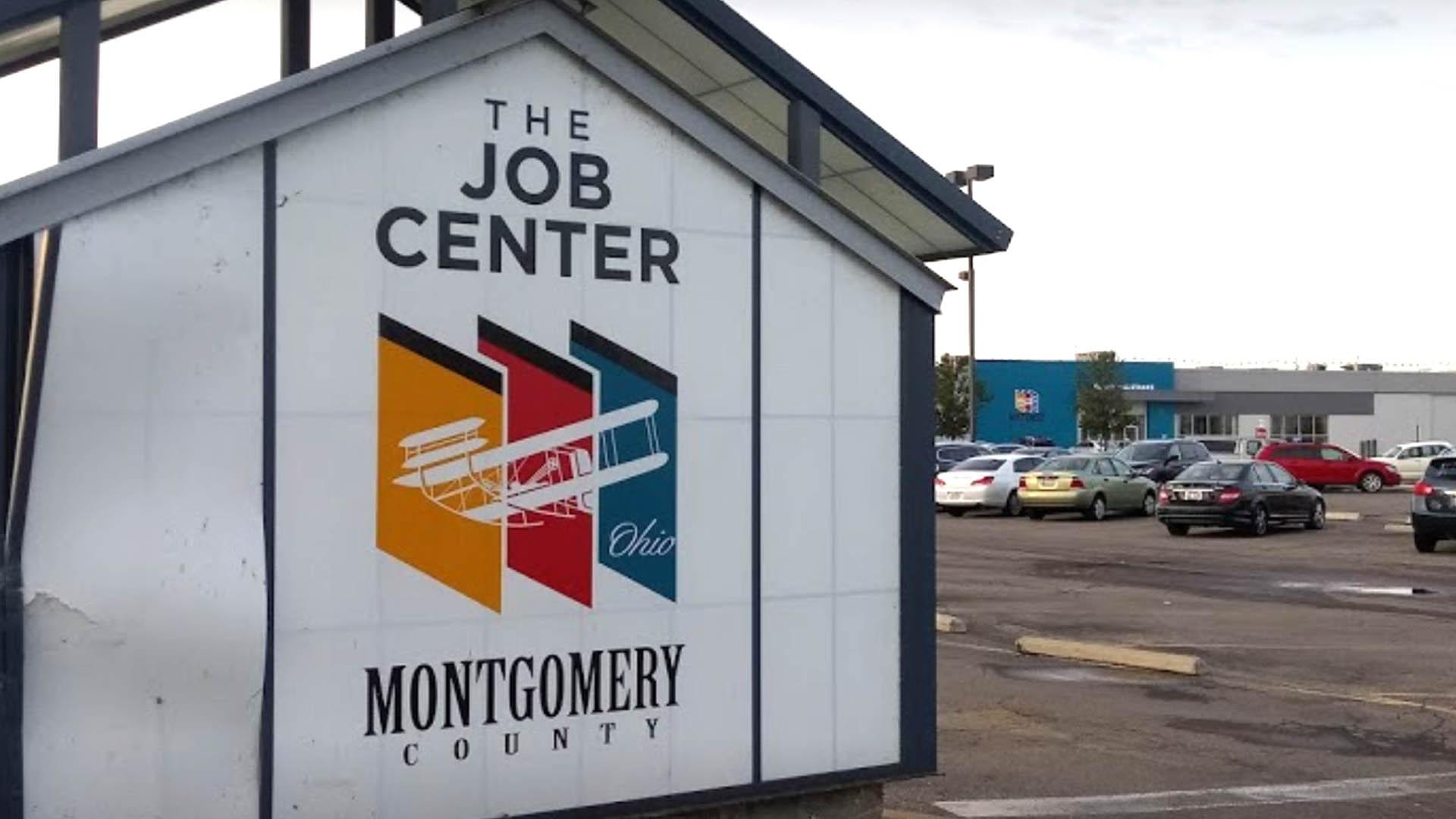 6-11 The Jobs Center Sign