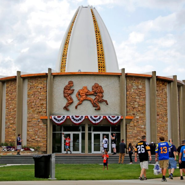 Hall of Fame Reopening Football