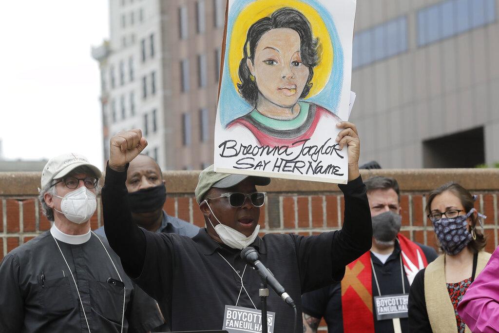 America Protests Boston