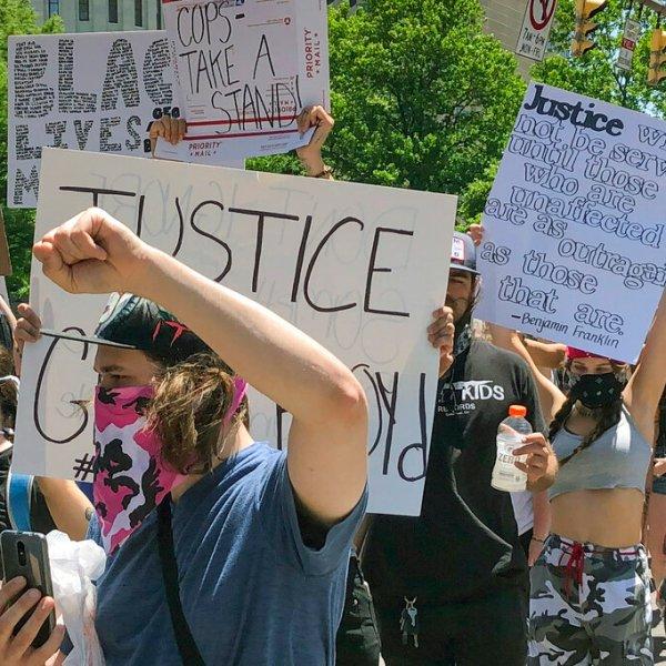 America Protests-Ohio