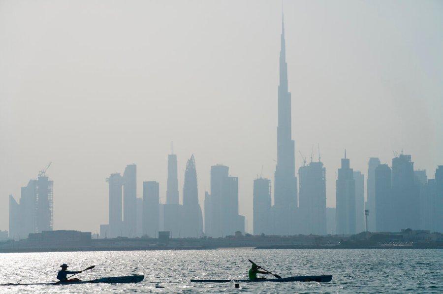 Virus Outbreak Emirates