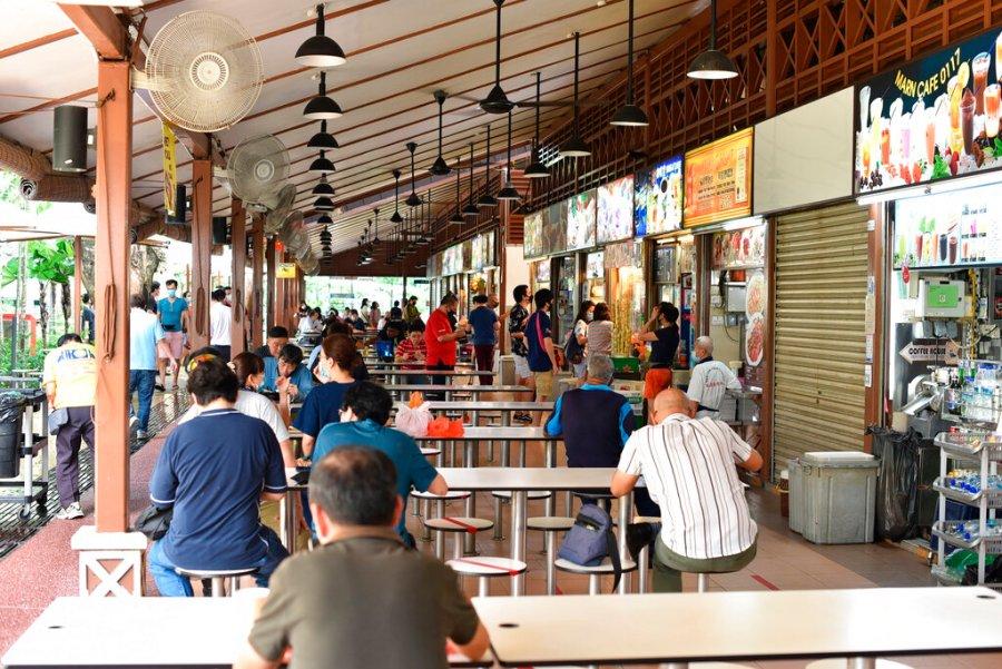 Virus Outbreak Singapore Reopening