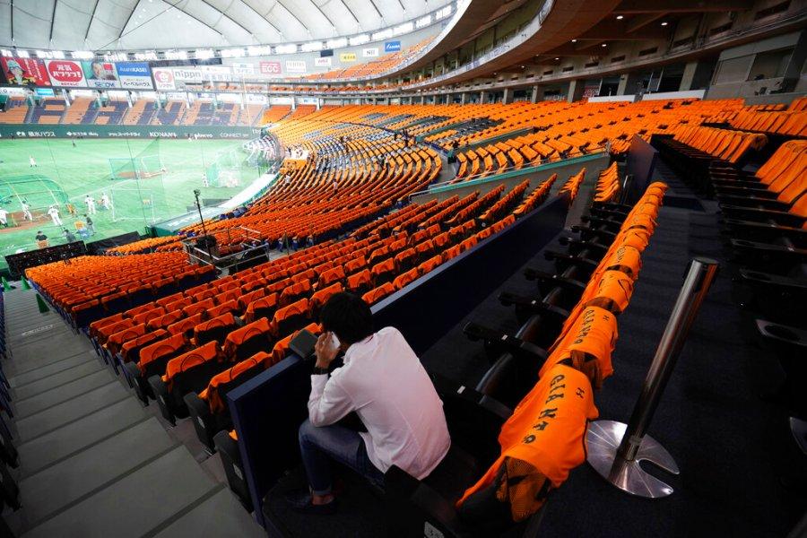 Virus Outbreak Japan Season Opens Baseball