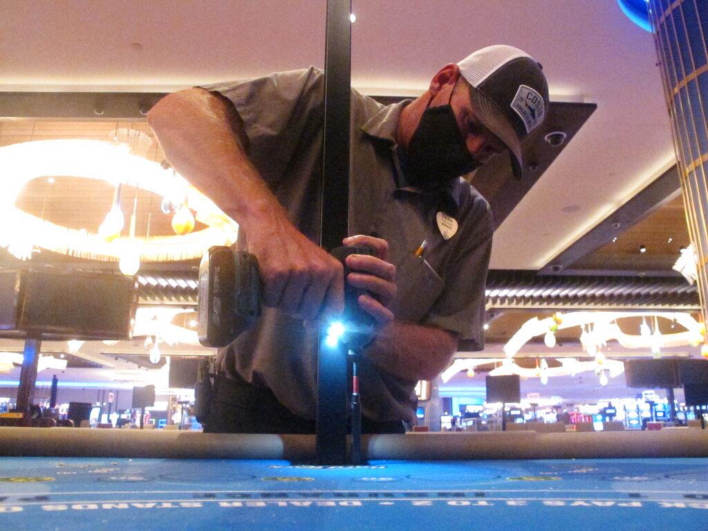 Virus Outbreak Atlantic City Casinos