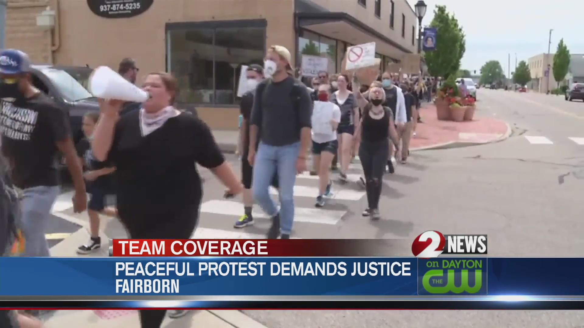 Fairborn protests